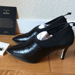 COLE HAAN x RODARTE Heeled Ankle Boots NWT